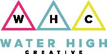 Water High Creative Logo w Black Text