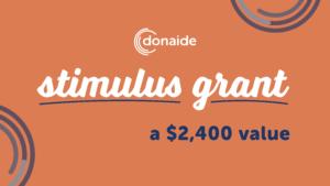 Donaide Stimulus Grant
